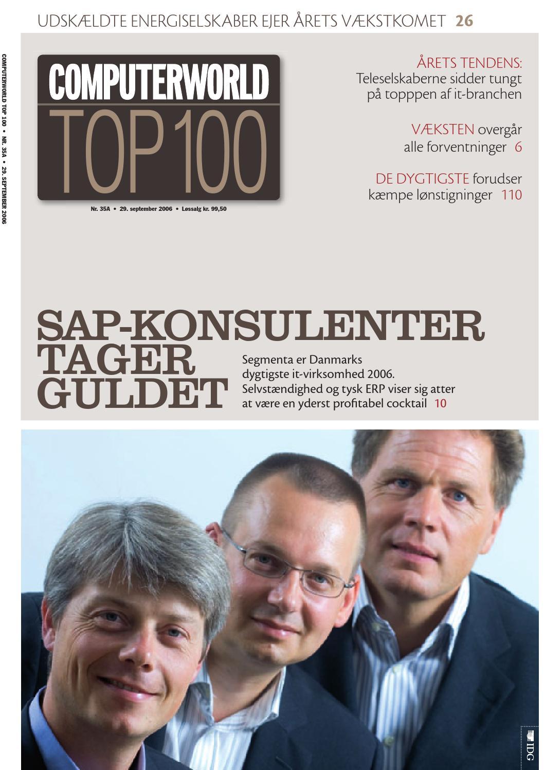 86da16d5c Computerworld Top 100 / 2006 by Computerworld A/S - issuu