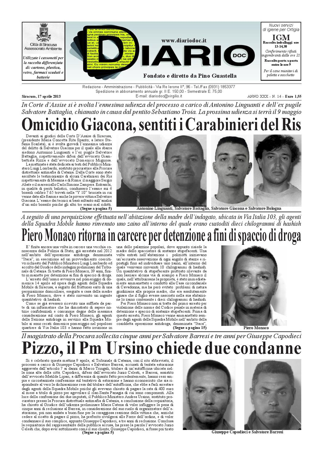 8f3655cd76 2013-aprile-13 by Diario doc - issuu