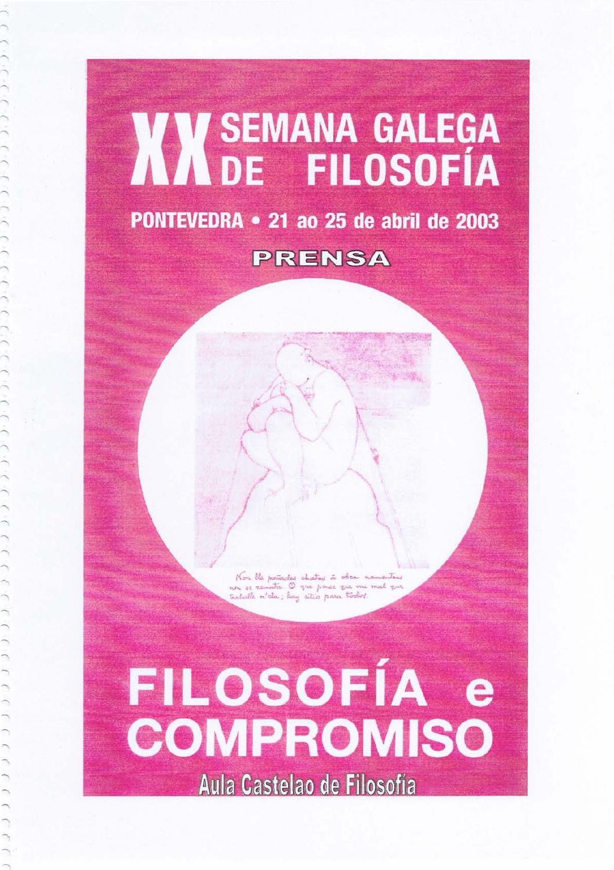 Xx semana galega de filosofía by Aula Castelao de Filosofía - issuu