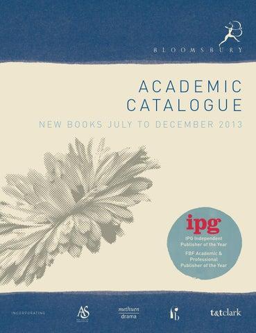 Bloomsbury Academic New Books Catalogue By Bloomsbury Publishing Issuu