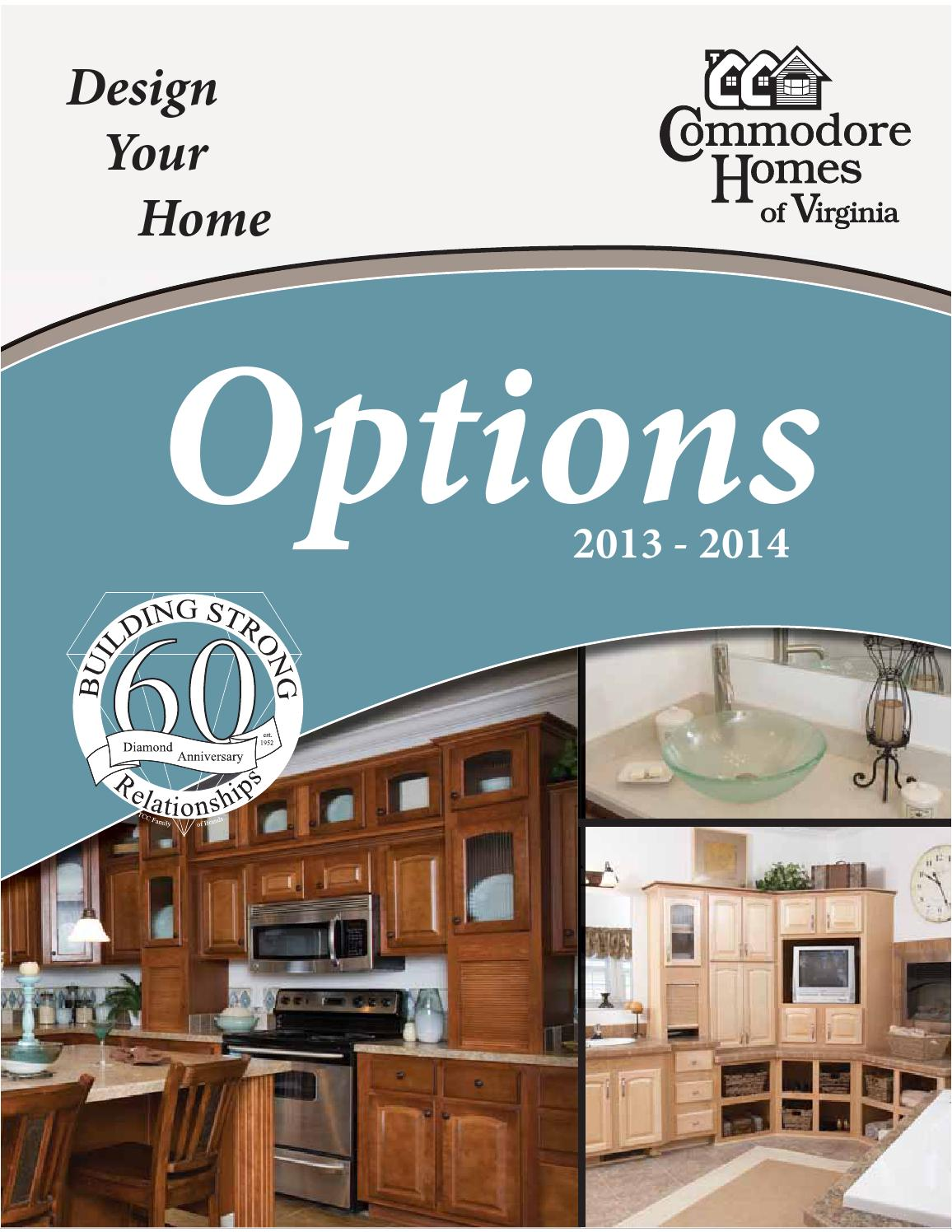 Commodore Homes of Virginia Option Brochure by The Commodore ...