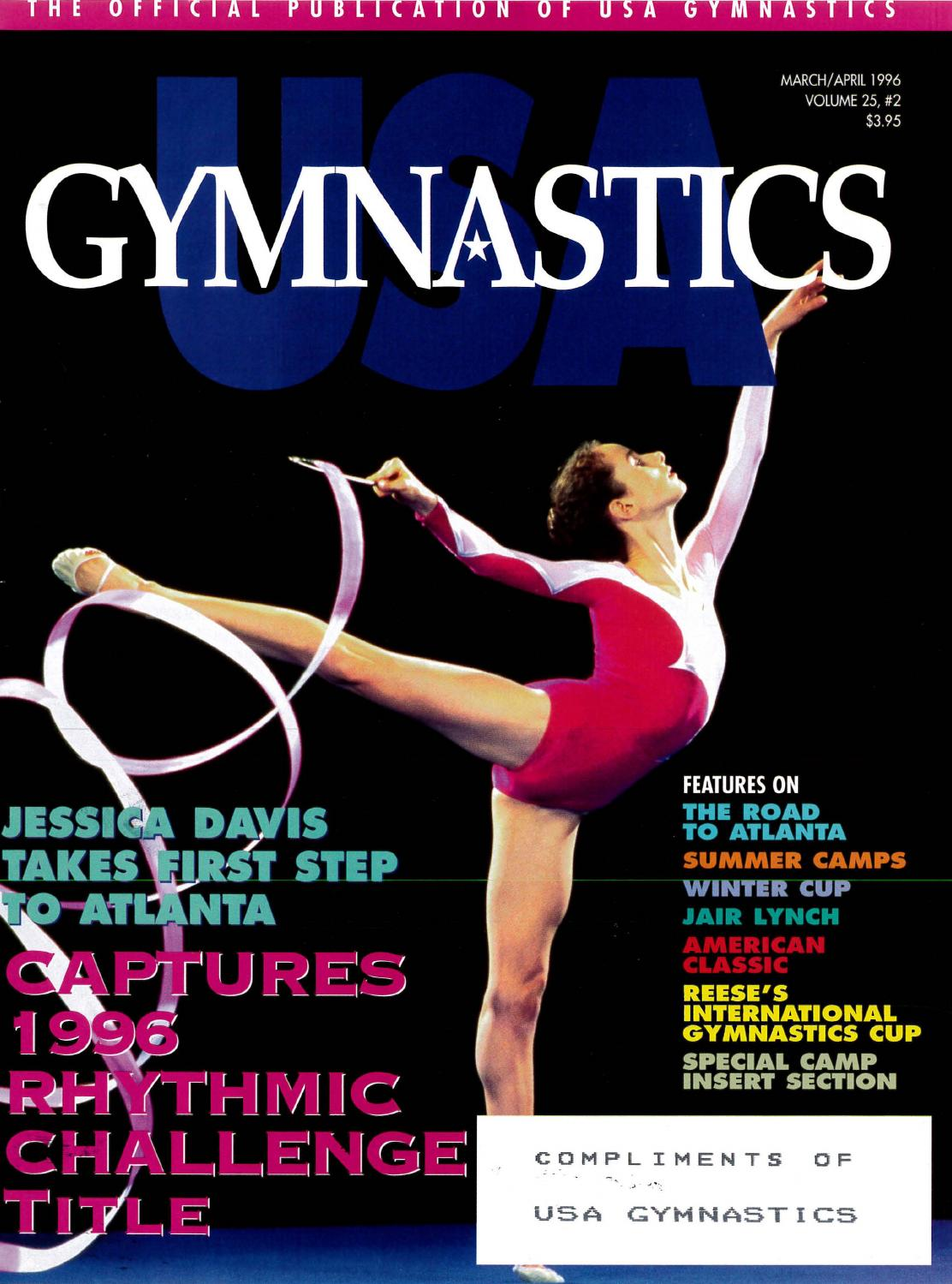 usa gymnastics march april 1996 by usa gymnastics issuu