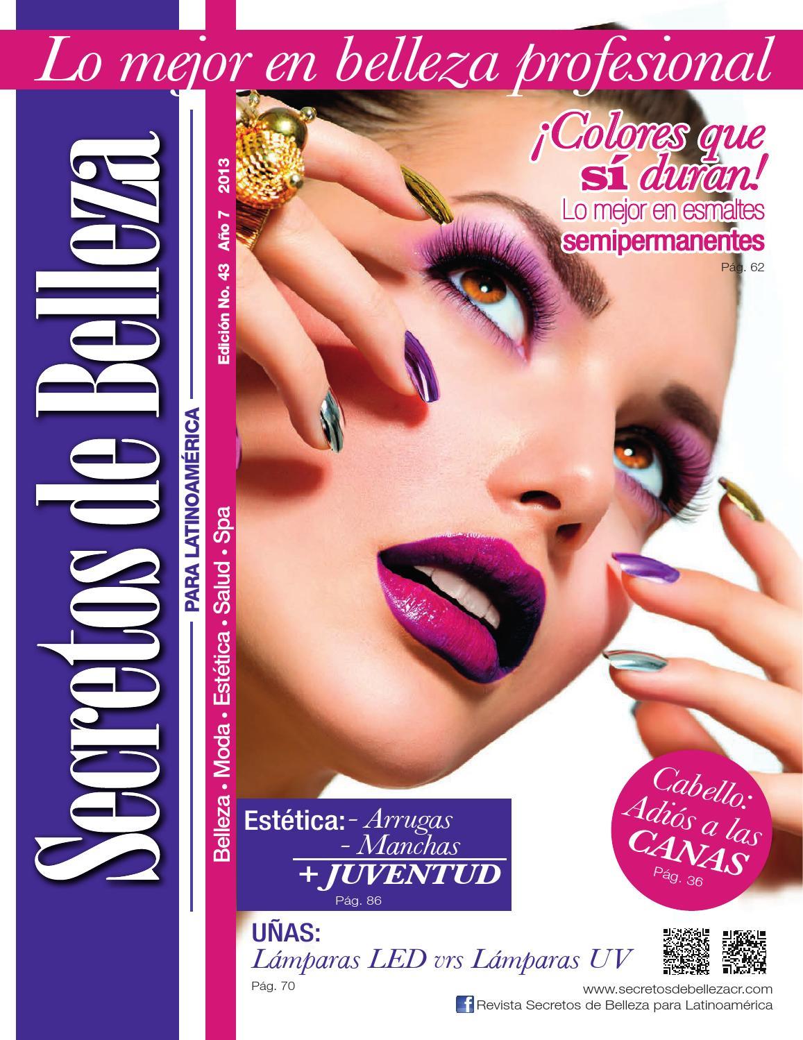 Revista Secretos de Belleza para Latinoamerica   Ed. 43 ...