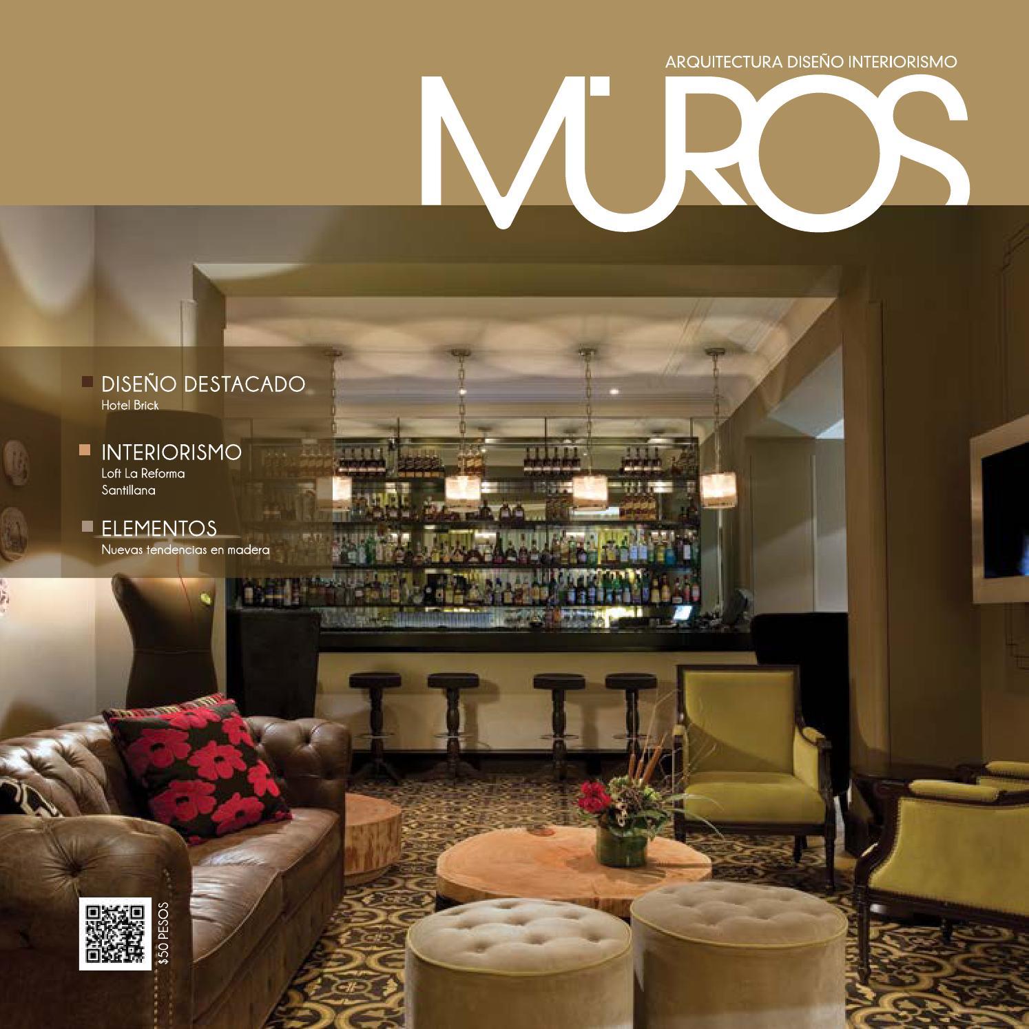 Edici n 1 revista muros arquitectura dise o interiorismo for Revista habitat arquitectura diseno interiorismo