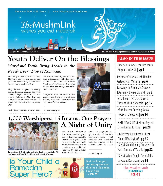 The Muslim Link - August 9, 2013 by The Muslim Link - issuu