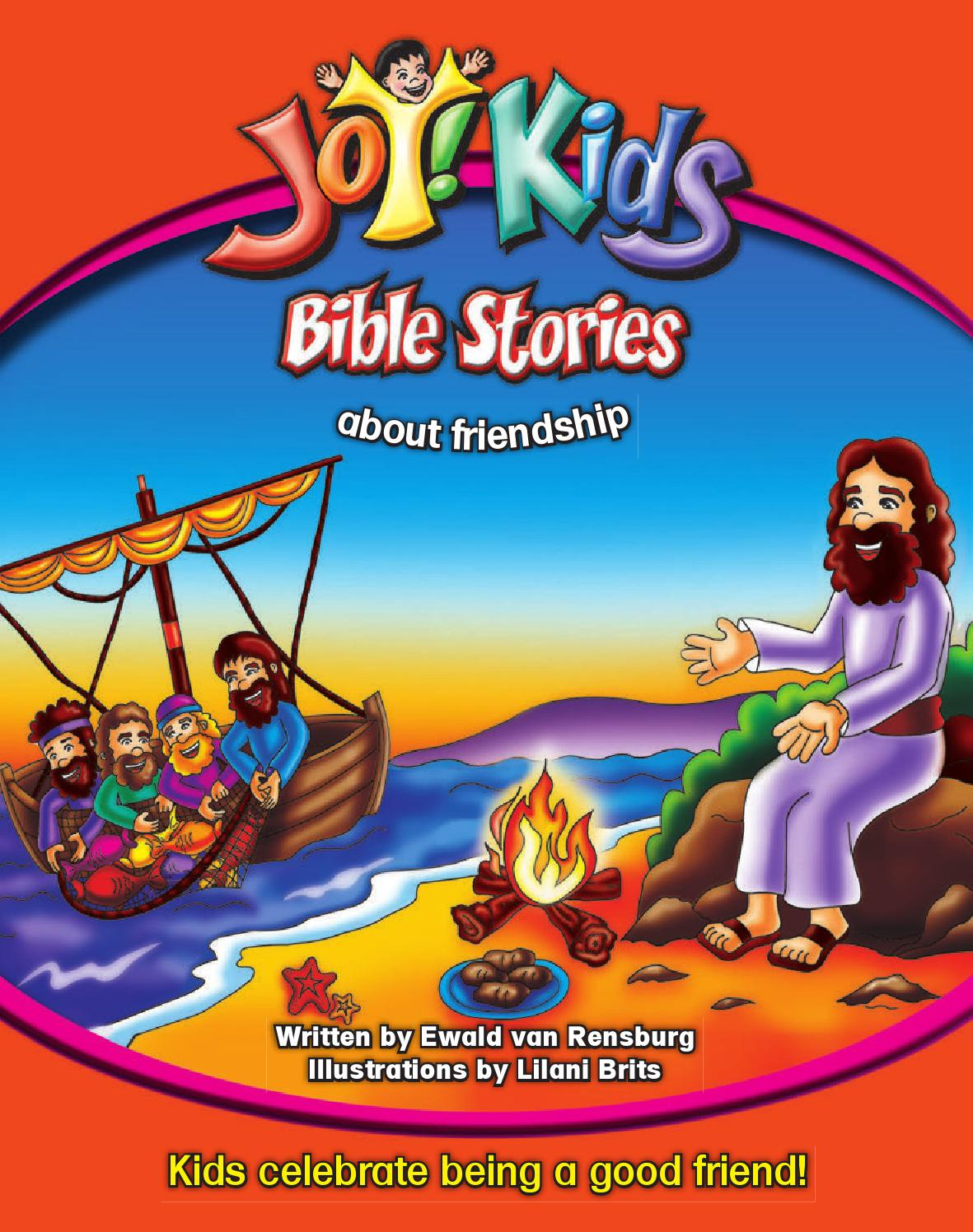 joy kids bible stories about friendship by cmp issuu