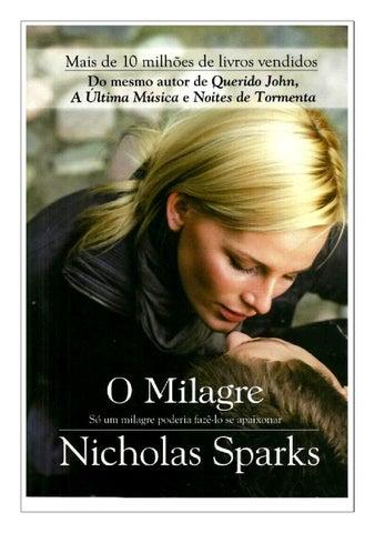 b09badd702 O milagre nicholas sparks by Denis Alves Cardoso - issuu