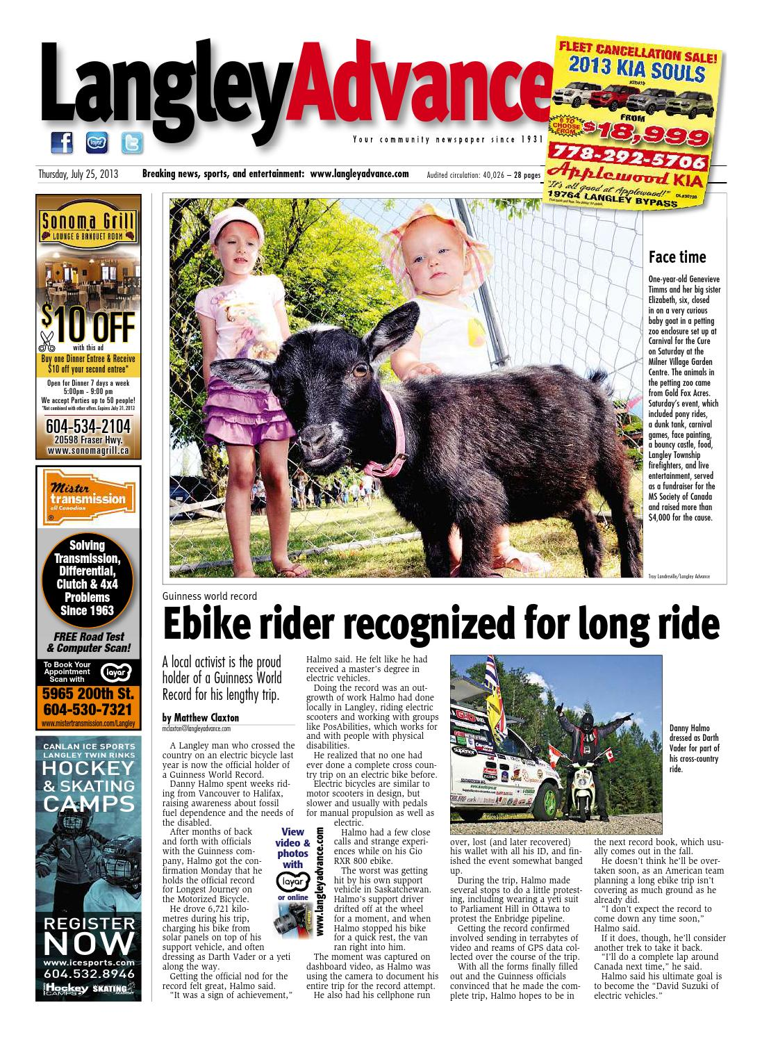 Langley Advance July 25 2013 by Langley Advance - Issuu