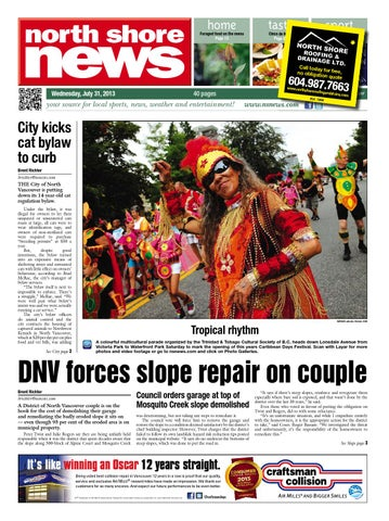 north shore news july 31 2013 by north shore news issuu