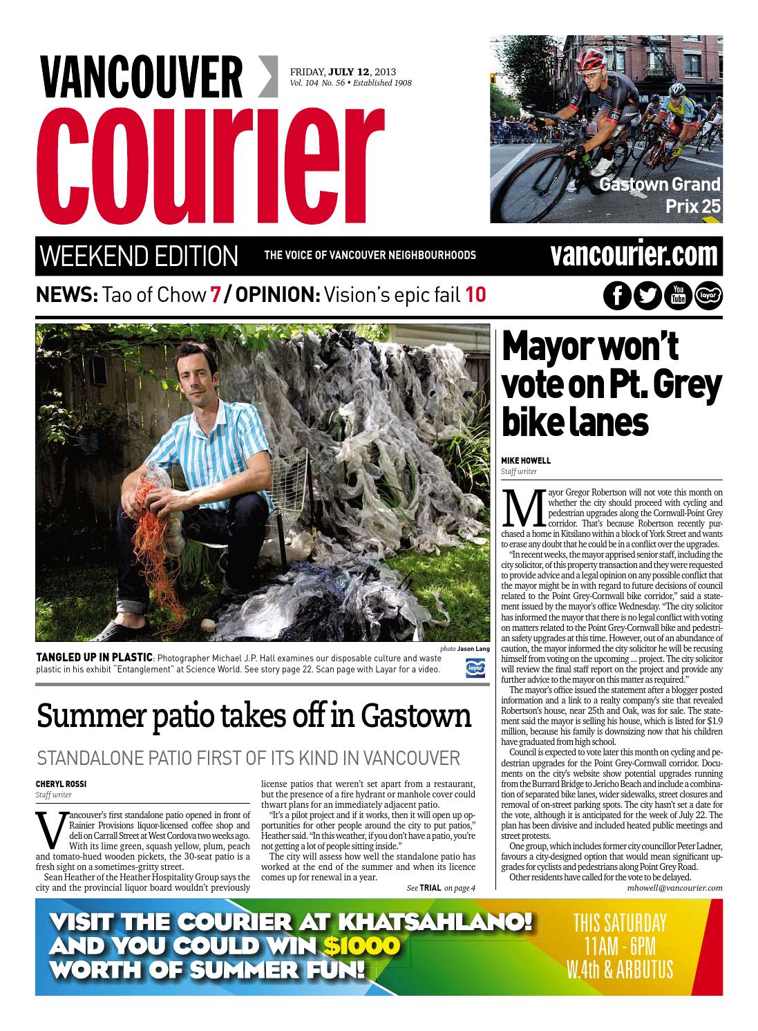 Vancouver Courier August 12 2013 by Vancouver Courier - issuu