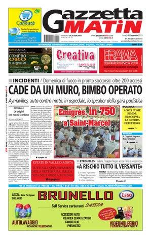 Gazzetta Matin del 12 agosto 2013 by Luca Mercanti - issuu 202f712828f9