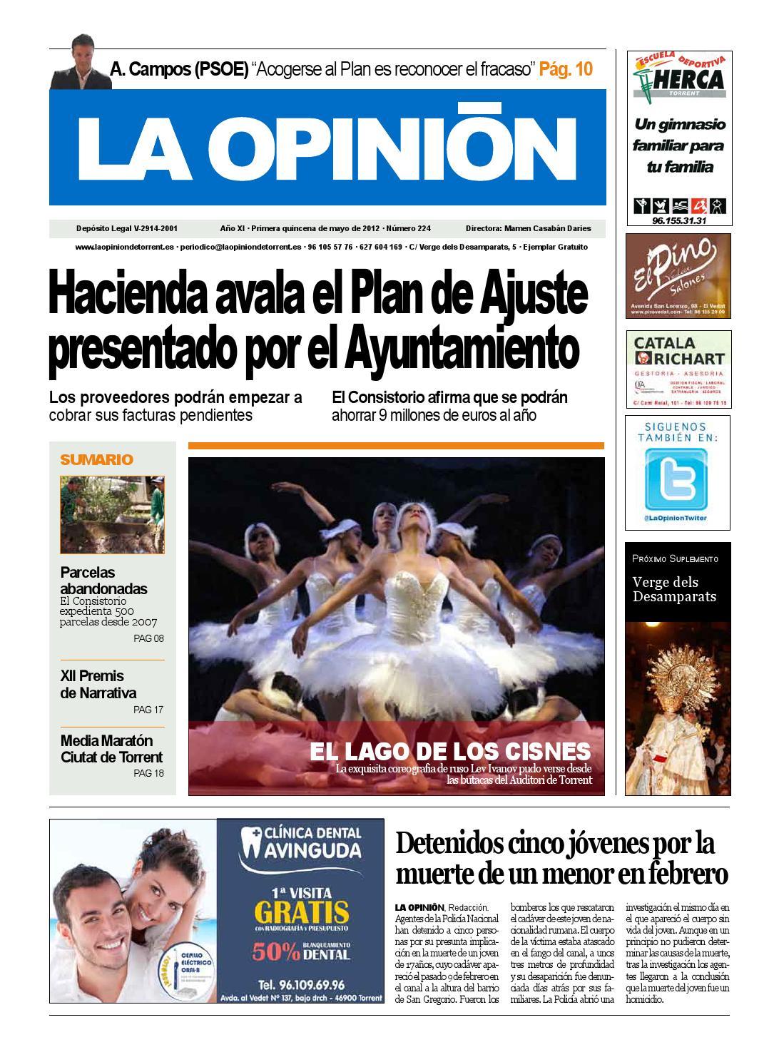 224-Primera quincena de mayo 2012 by La Opinion de Torrent - issuu