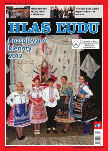 e15b5db5dcd3 Hlas 43 2012 by NVU Hlas ľudu - issuu