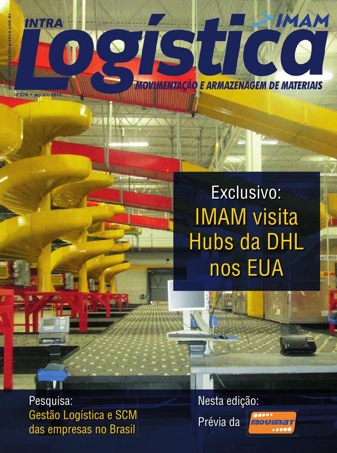 50530a669 Revista intraLOGÍSTICA - Edição 274 - Agosto 2013 by IMAM Editora e  Comercio - issuu