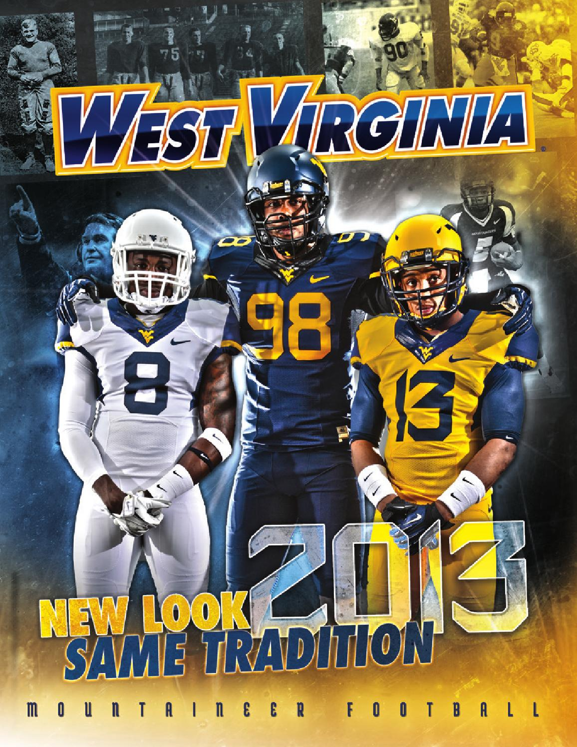 sports shoes df1f4 56462 2013 West Virginia University Football Guide by Joe Swan - issuu