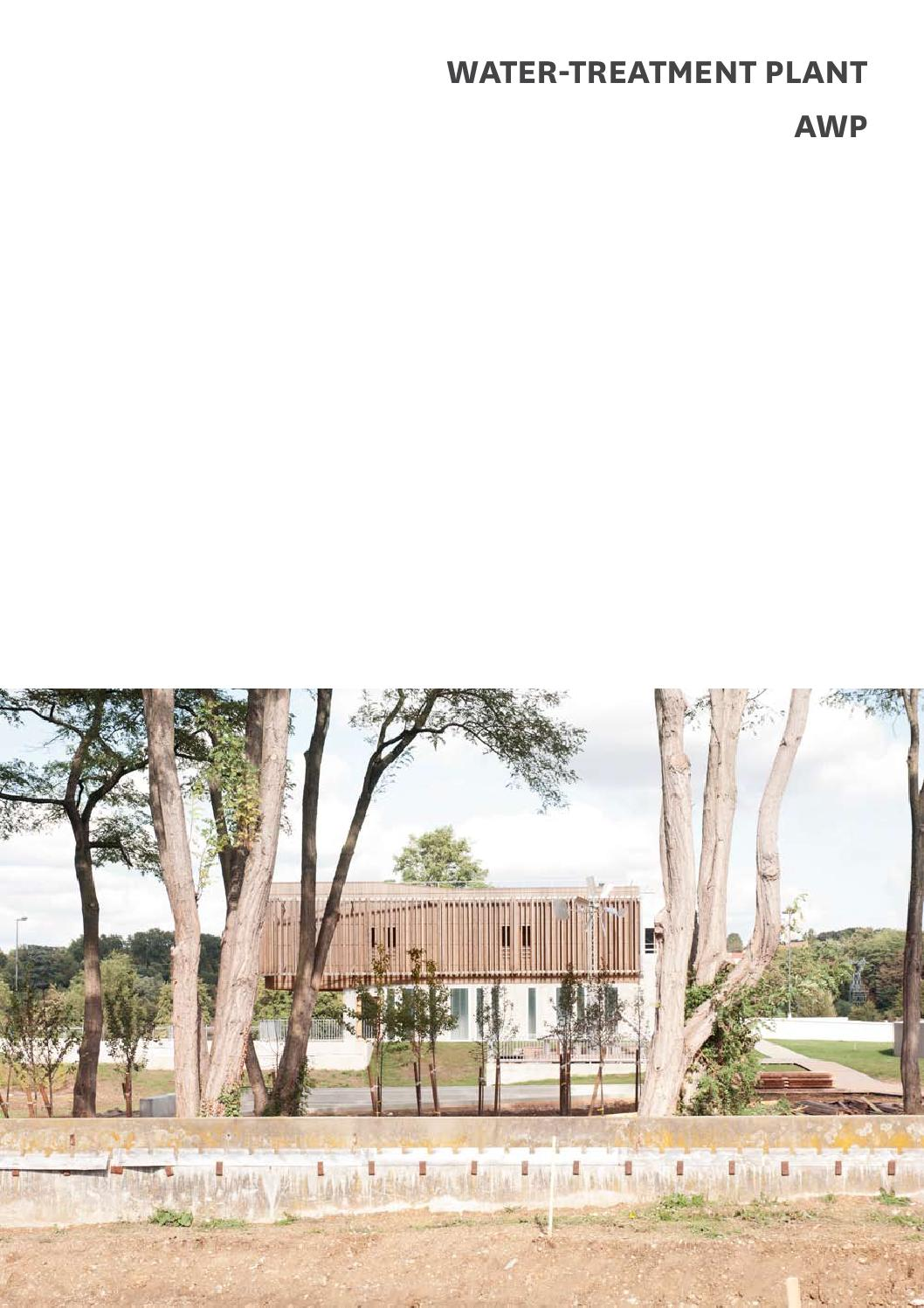 Parra Building Consultants : Water treatment plant évry by awp architecture issuu