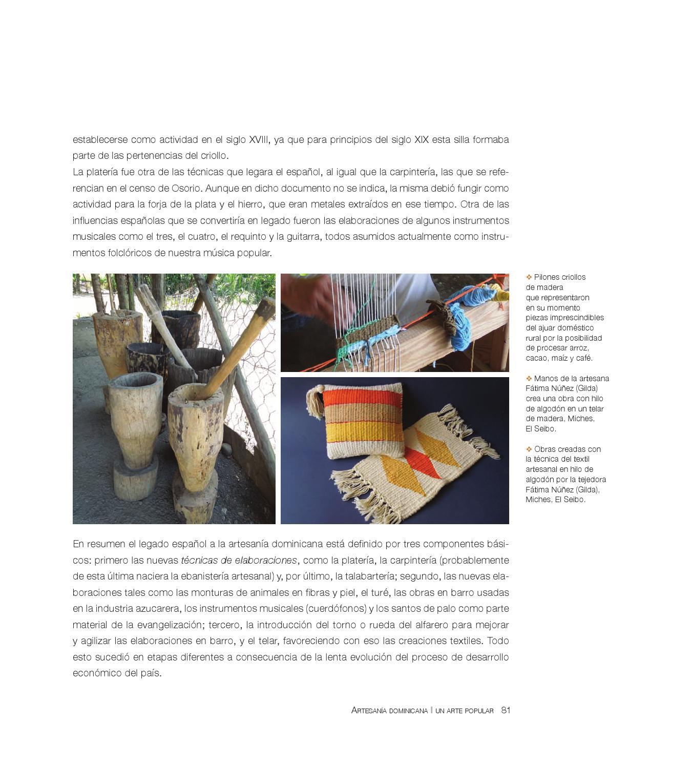 Artesanía Dominicana Un Arte Popular