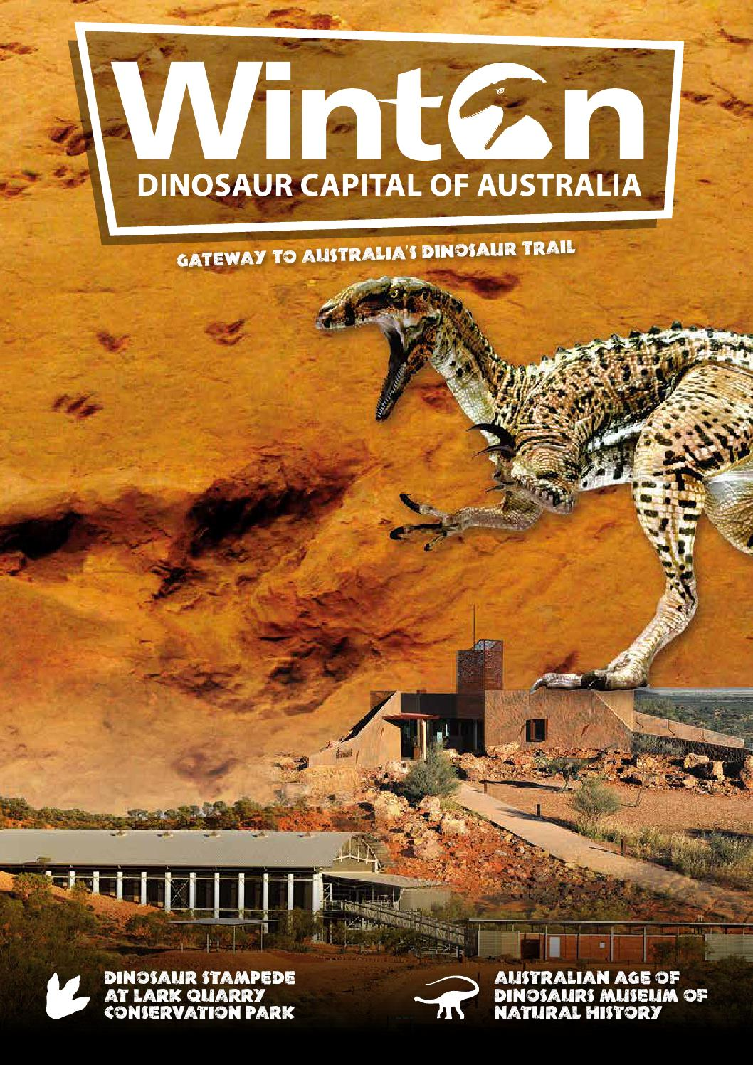 Winton Dinosaur Capital Of Australia By Vink Publishing