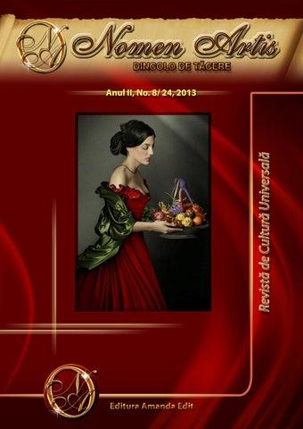 Revista Nomen Artis - Revista de cultura universala