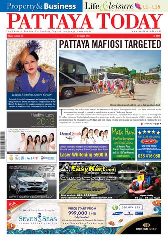 a5f048a0e9 Vol 12 issue 22 1 15 august 2013 by Pattaya Today - issuu