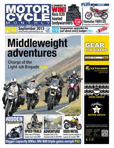 Motor Cycle Monthly   September 2013 By Mortons Media Group Ltd   Issuu