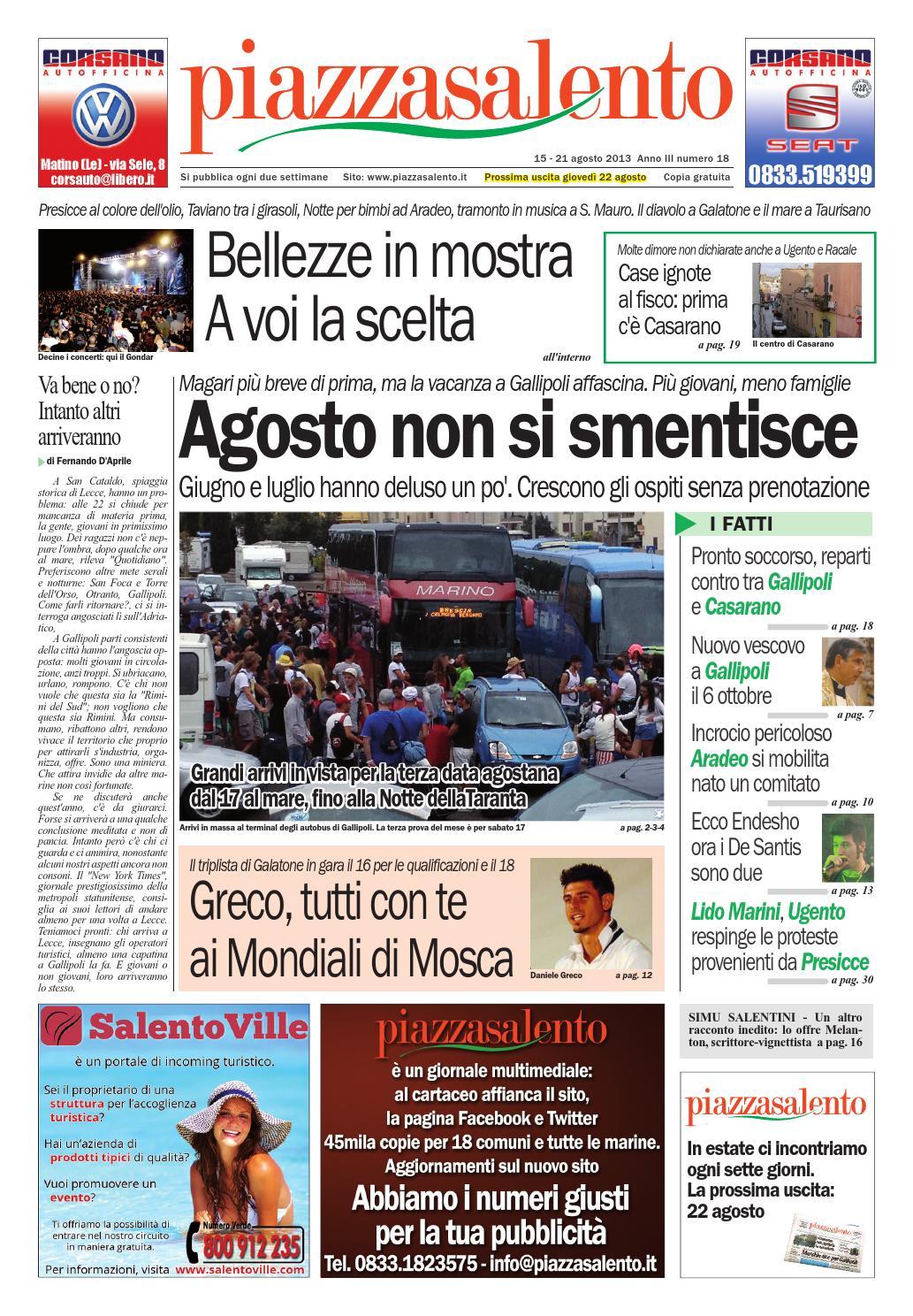 Piazzasalento n18 by Lucio Colavero issuu