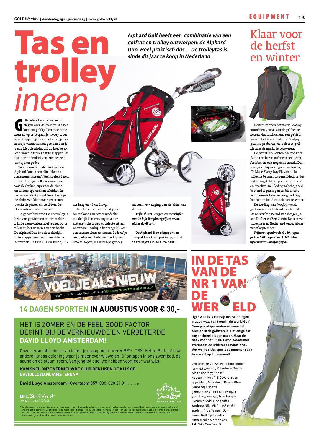 Golf Weekly 2013 20 By Tig Sports Issuu