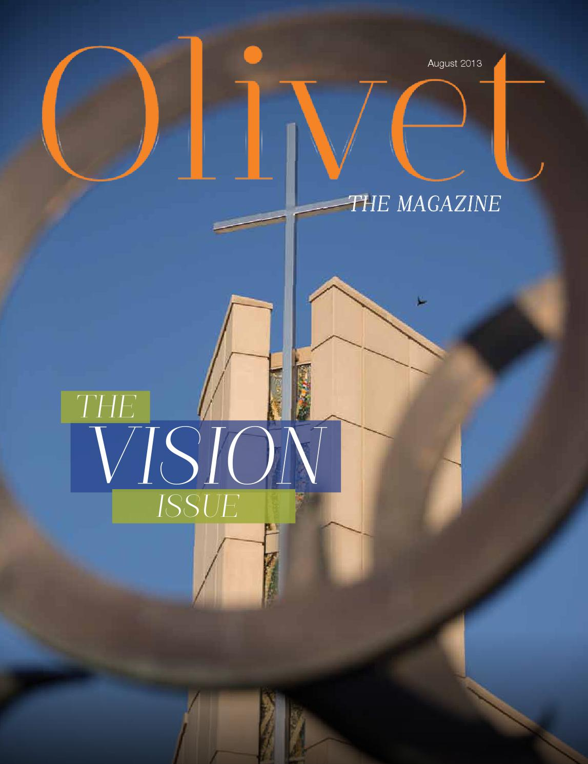 olivet the magazine august 13 lo by olivet nazarene