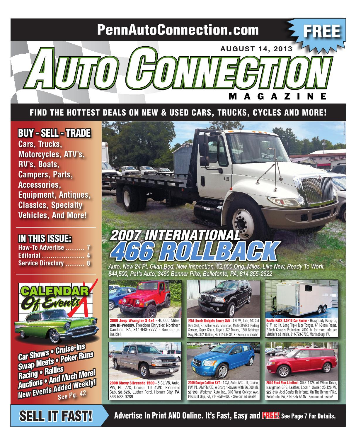 08 14 13 Auto Connection Magazine By Issuu 9910 Vw Beetle Golf Jetta Sending Unit Electric Gas Fuel Pump