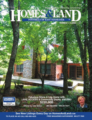 Homes land foothills of east tennessee vol 19 issue 6 by for East tennessee home builders