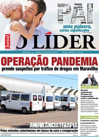 c60c3de4e7 O líder maravilha 10 08 2013 by Jornal O Líder - São Miguel do Oeste ...