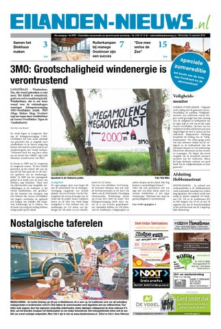 Eilanden Nieuws Woensdag 14 Augustus By Eilanden Nieuws Issuu
