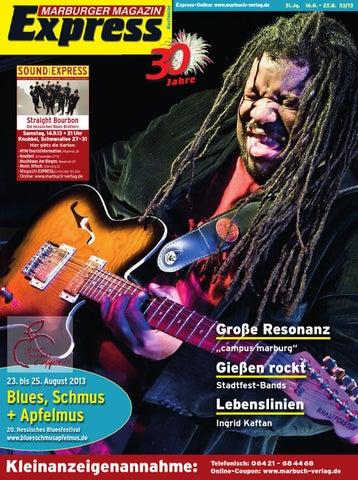 Marburger Magazin Express 33/2013 by Ulrich Butterweck - issuu