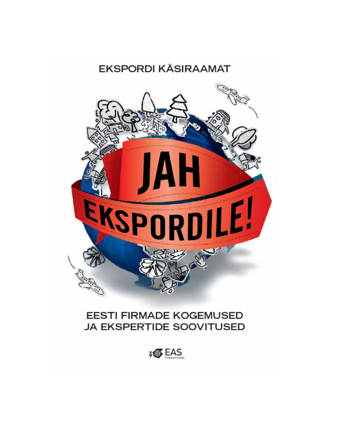 ekspordi k228siraamat �jah ekspordile� by eas enterprise