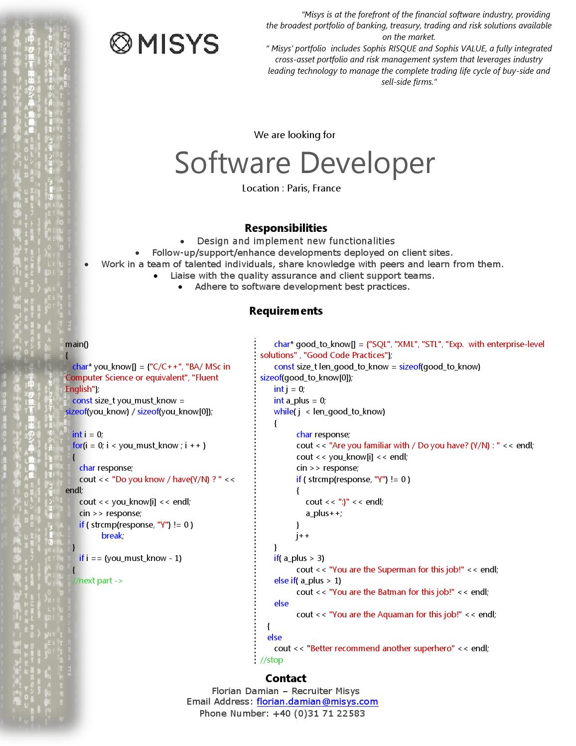 Software developer paris by Facebook - issuu
