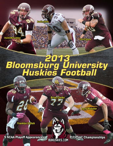 2013 Bloomsburg Football Media Guide By Bloomsburg University Issuu