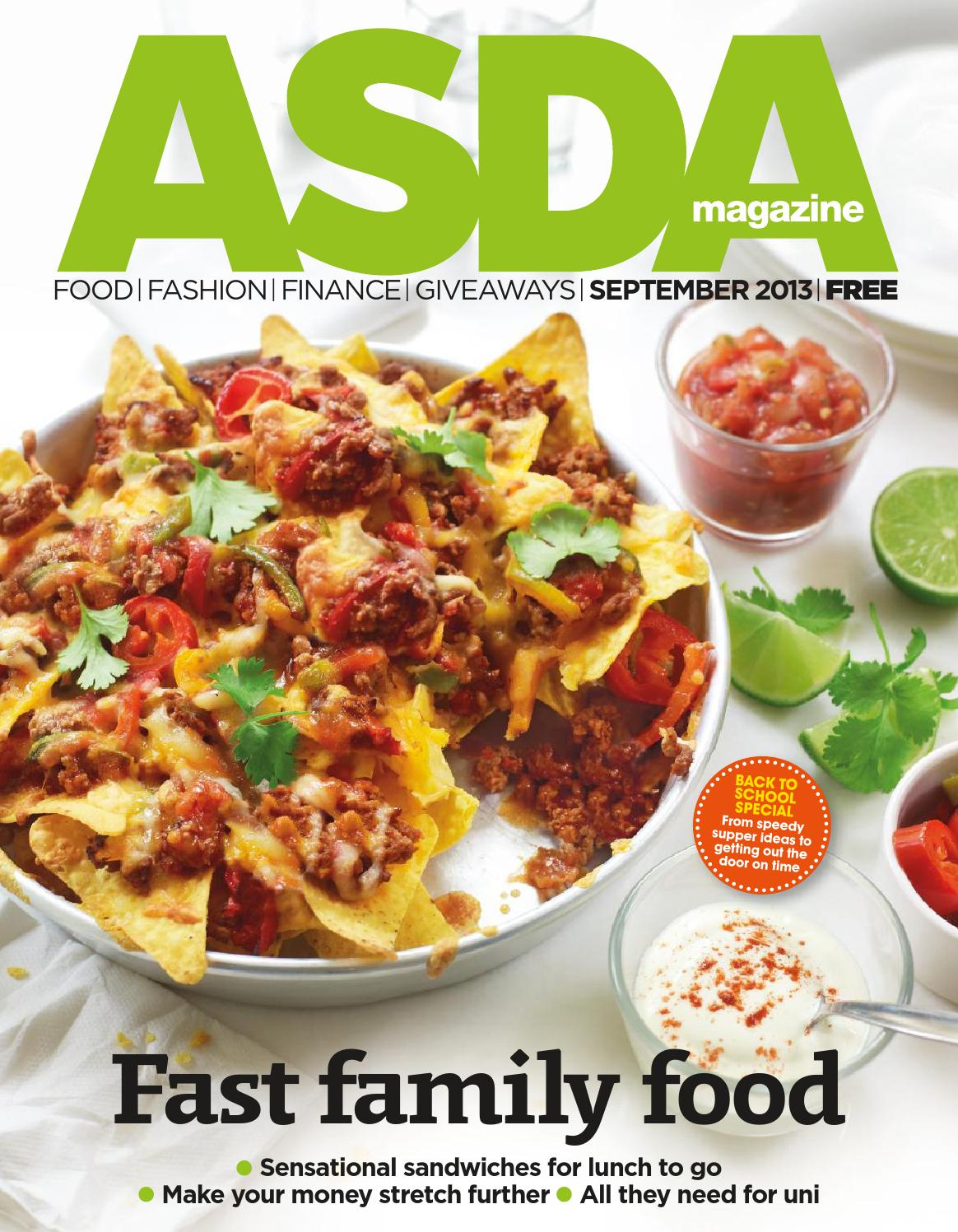 Asda Magazine September 2013 By Asda Issuu