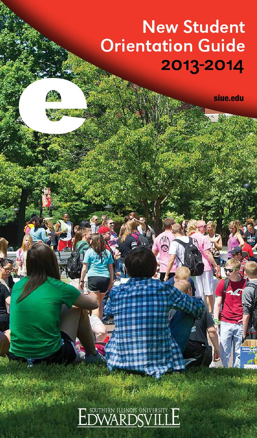 SIUE New Student Guide by SIUE - issuu Siue Campus Map Food on