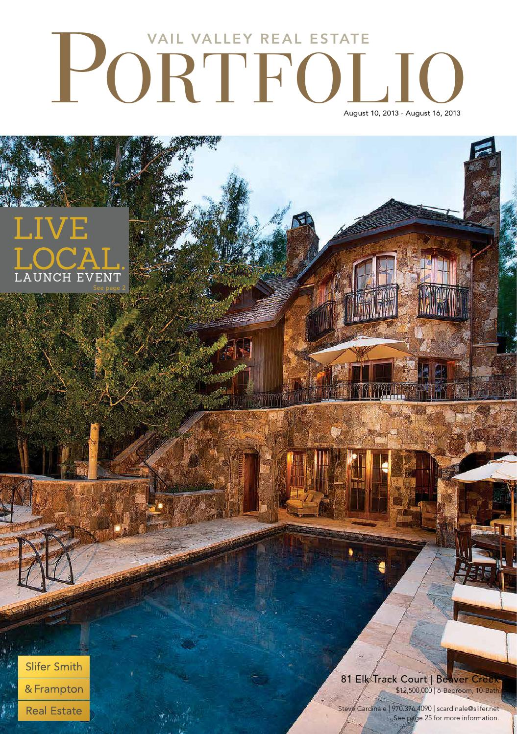 The Vail Valley Real Estate Portfolio by Slifer Smith & Frampton ...
