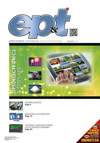 Electronic Products and Technology Aug 2013 by Annex Business Media