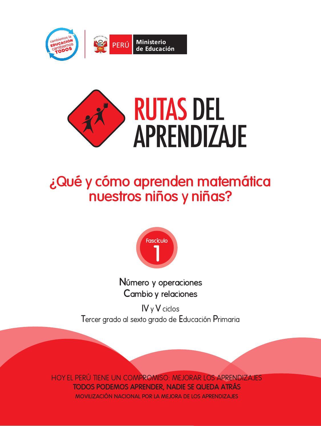 Primaria Matemática 4 y 5 by Editorial María Trinidad - issuu