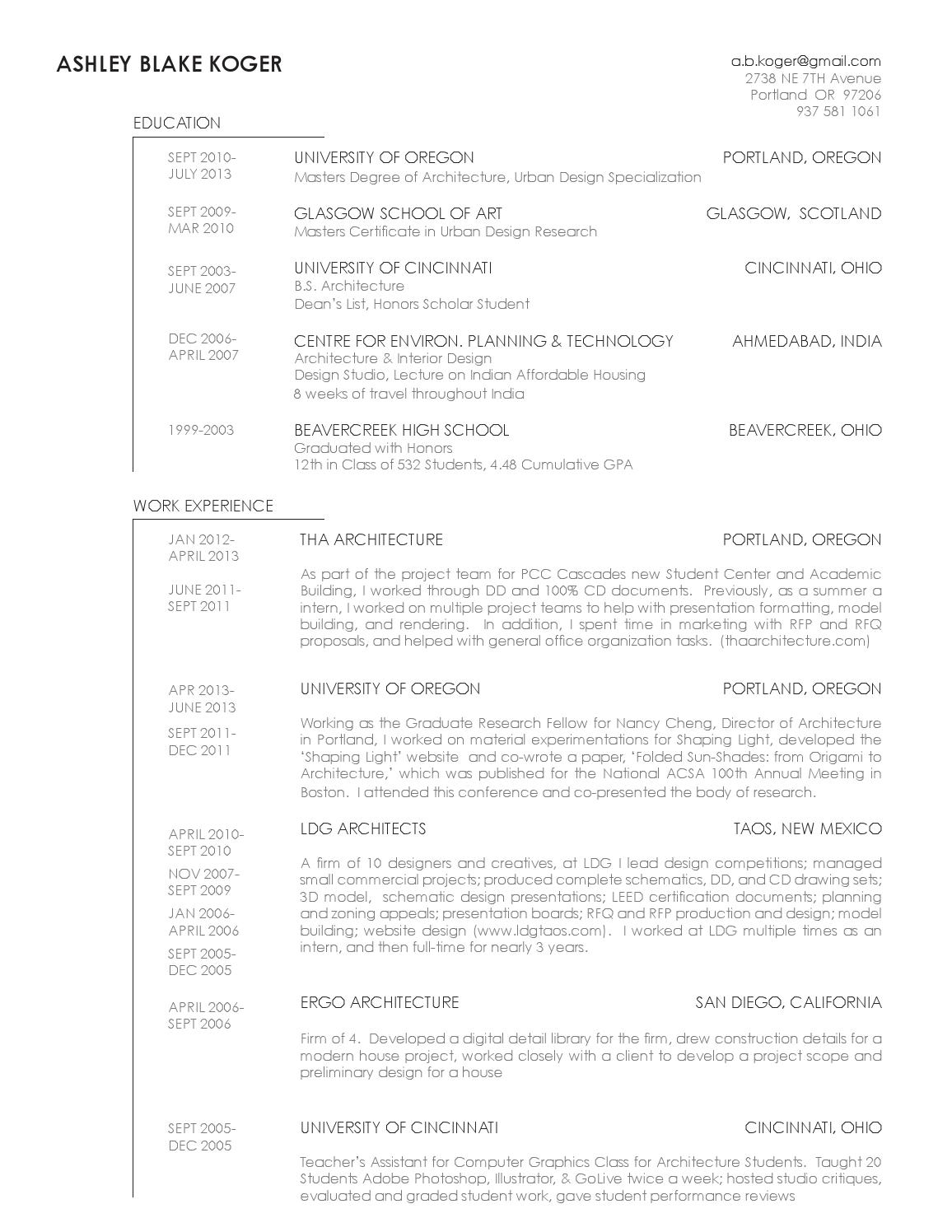 How To List Degree Specialization On Resume