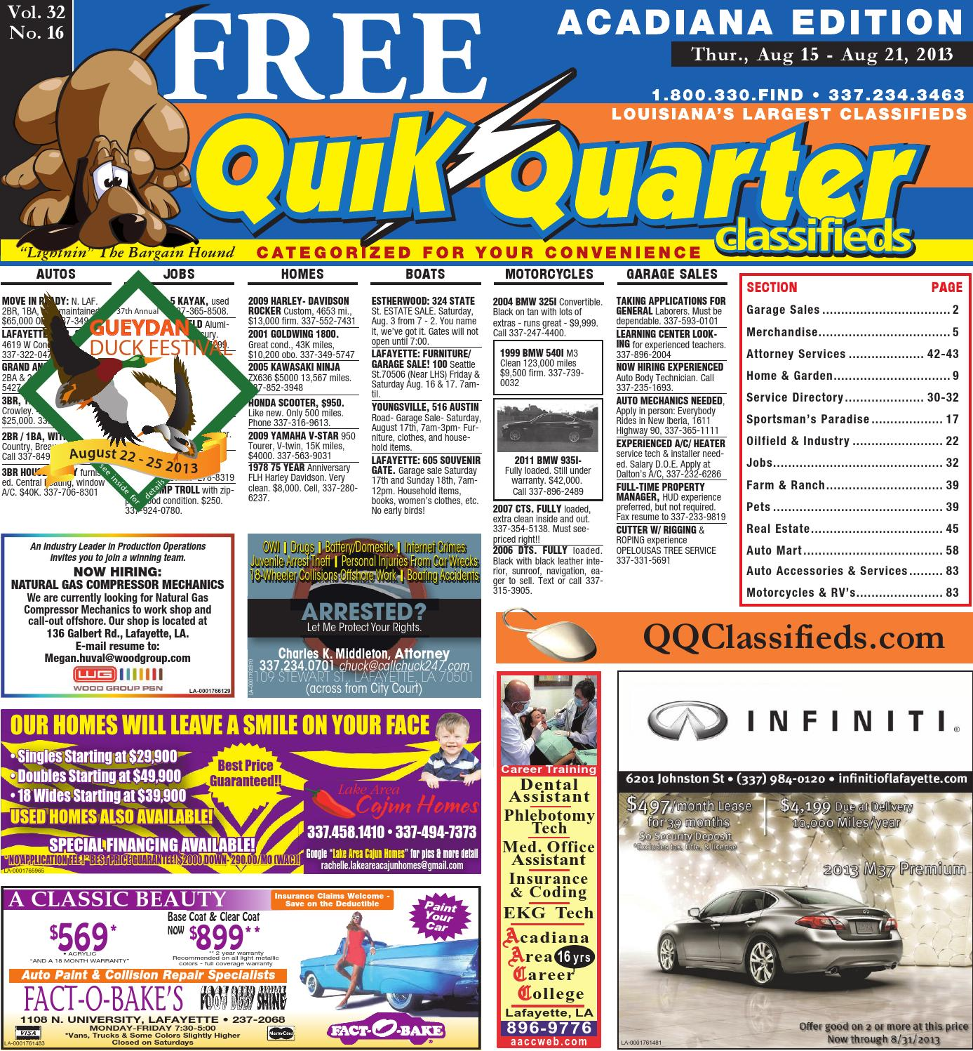 qqacadiana 08 15 2013 by part of the usa today network issuu rh issuu com