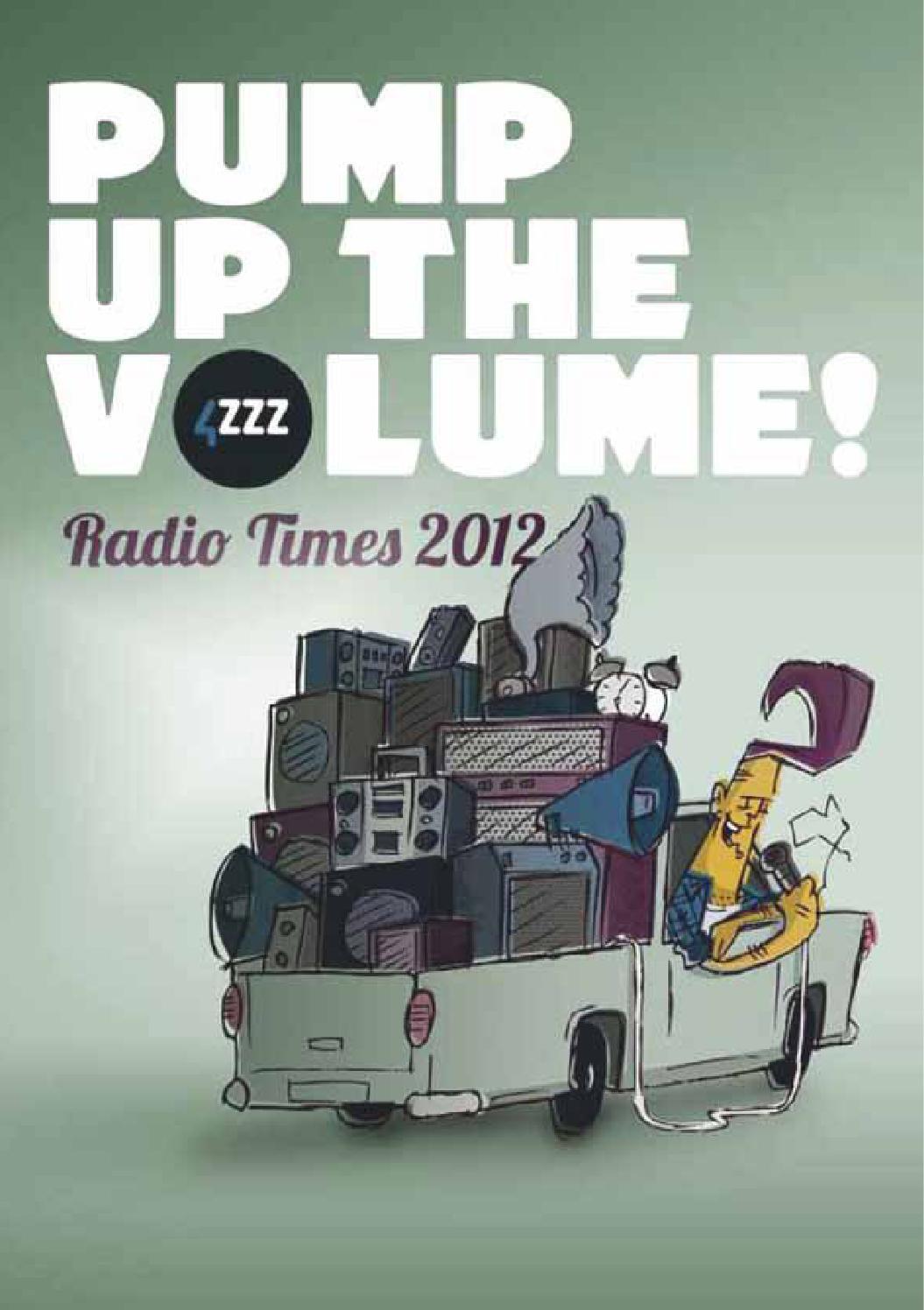 Amazing 4Zzz Radio Times 2012 By 4Zzz Radio Issuu Machost Co Dining Chair Design Ideas Machostcouk