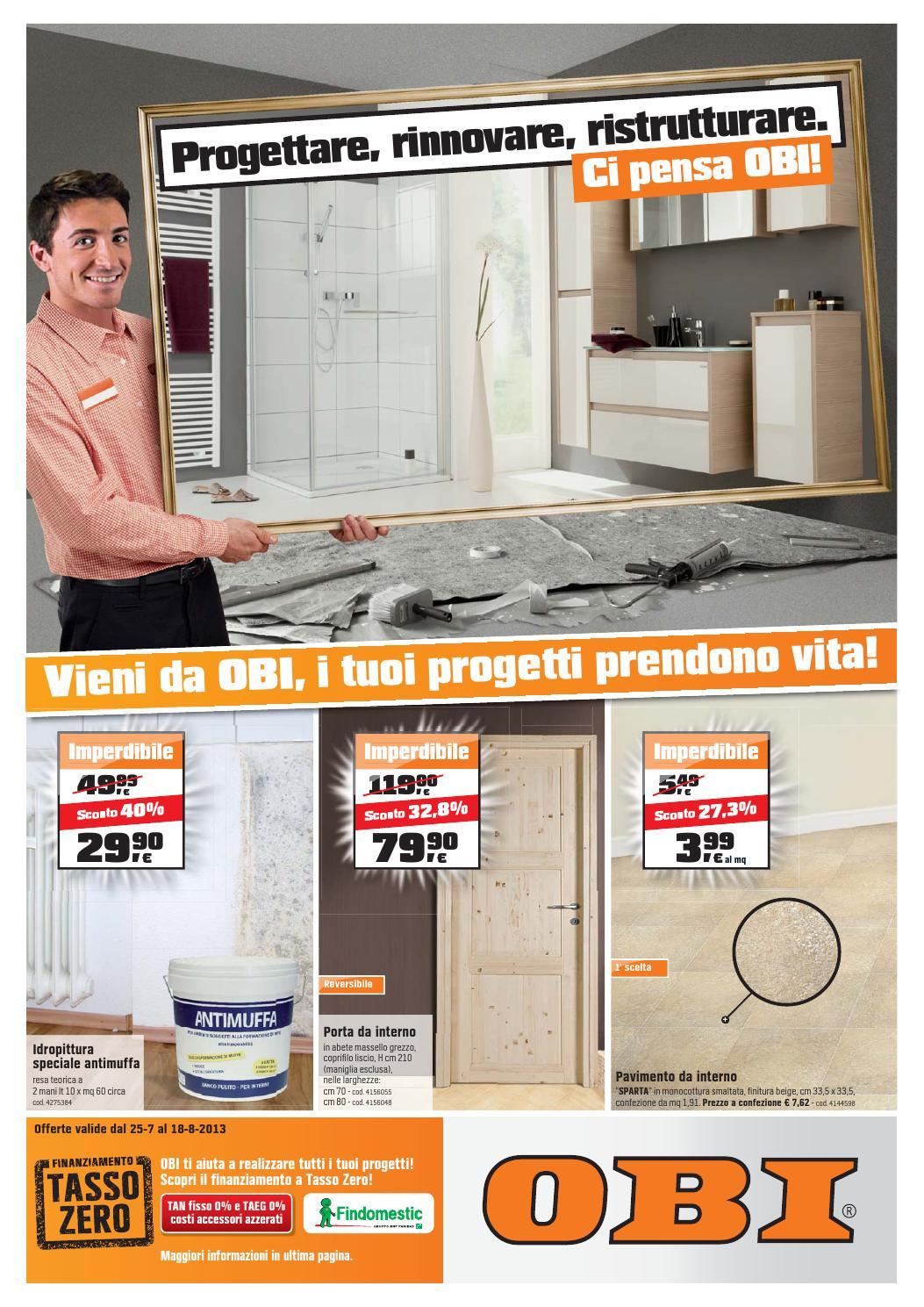 Obi volantino 25luglio 18agosto2013 by CatalogoPromozioni.com - issuu