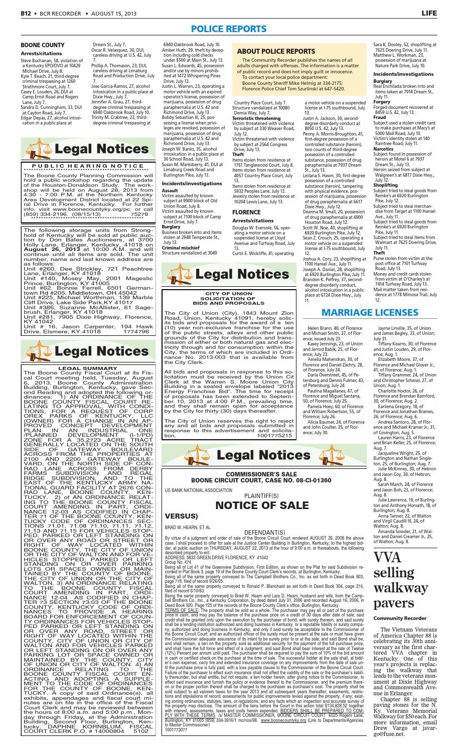 Boone County Recorder 081513 By Enquirer Media Issuu
