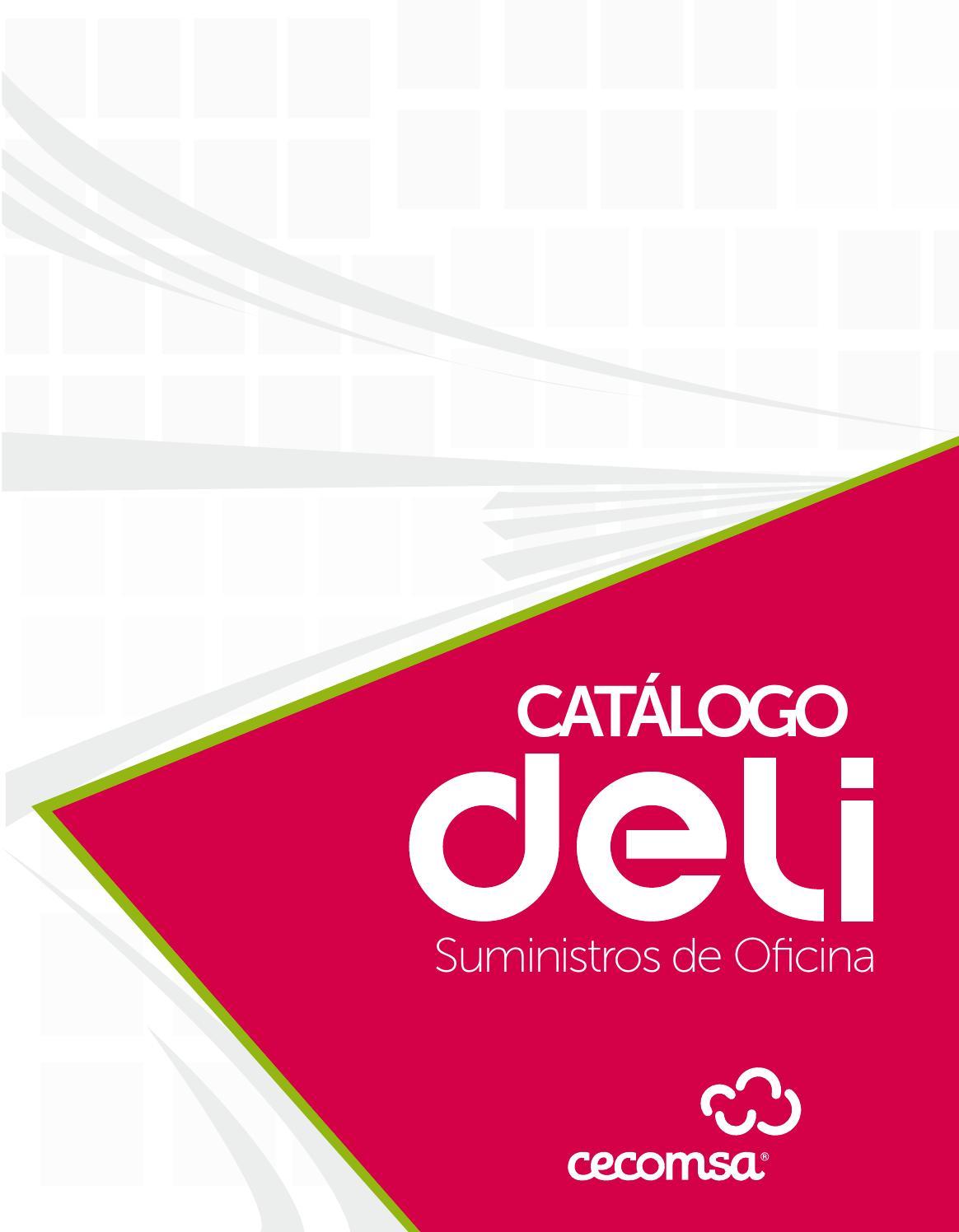 Cat logo suministro de oficina deli by cecomsa si lo for Suministros oficina