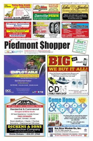 The piedmont shopper 2212013 by piedmont shopper issuu piedmont shopper 8152013 sciox Choice Image