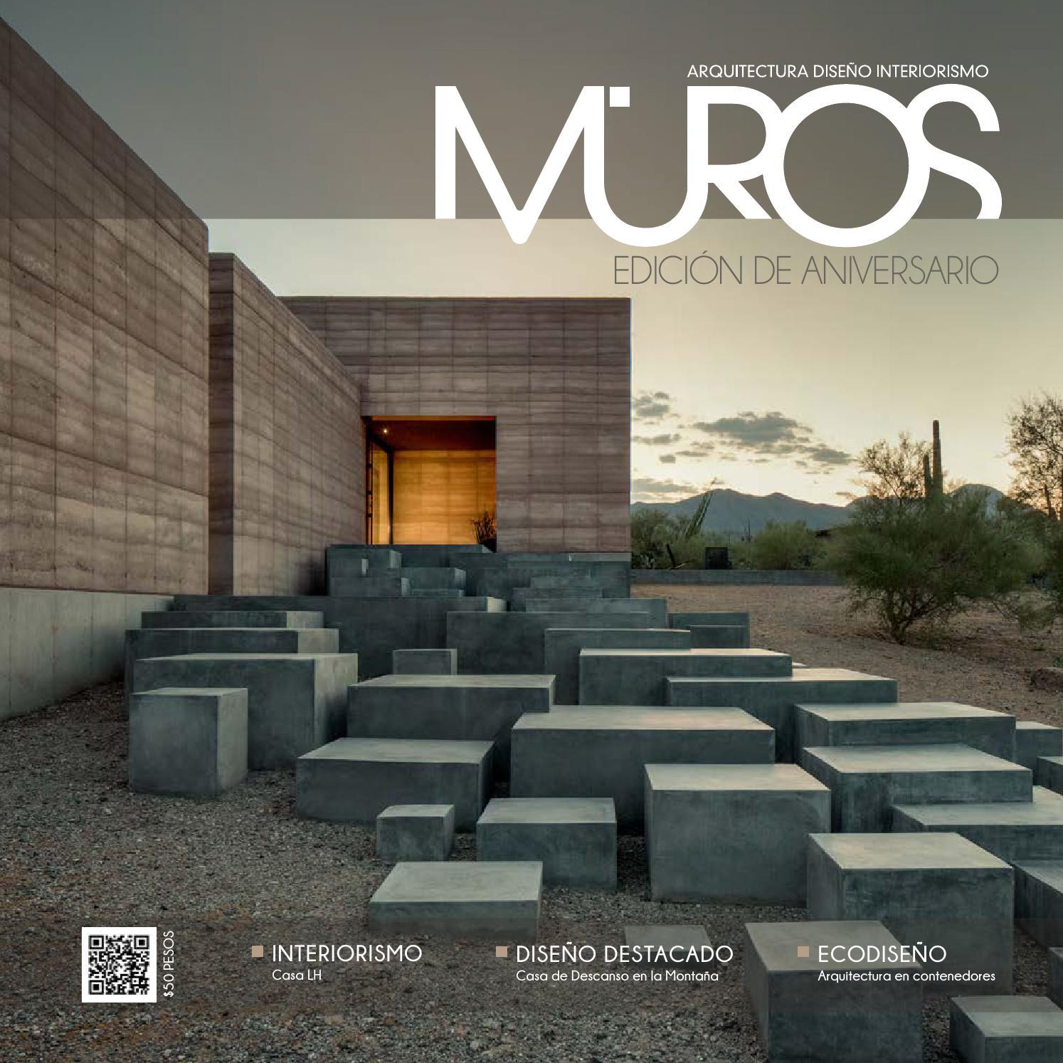 Edici n 6 aniversario revista muros arquitectura - Arquitectura de diseno ...