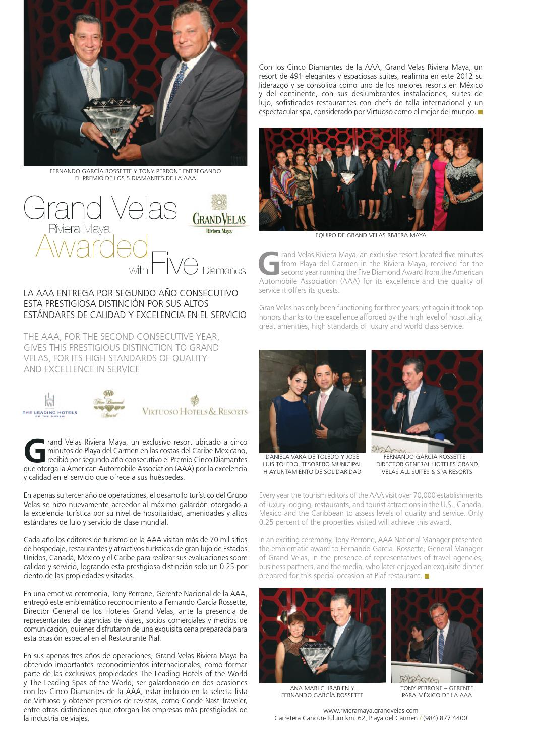 IN Riviera Maya Nov-dic 2012 web by IN Media Group - issuu